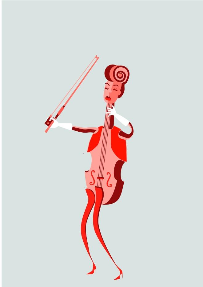 Astrid the violin