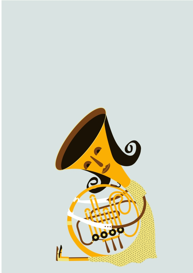 Ursulla the French horn